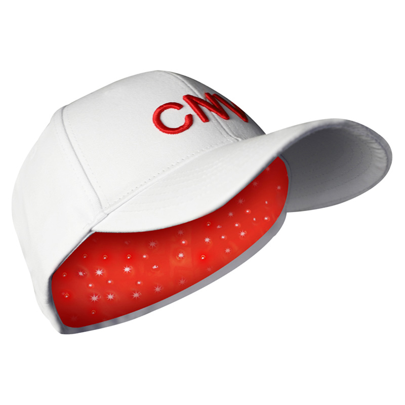 CNV Mobile Laser Therapy Cap Hair Regrow For Men and Women 88 Medical-Grade Lasers White