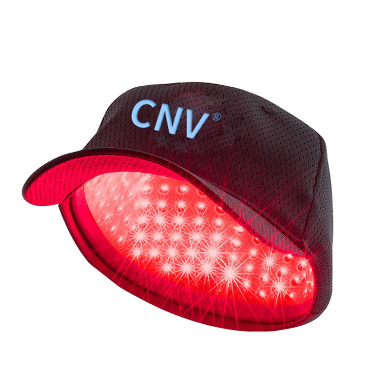 CNV モバイル レーザー治療キャップ 毛髪再生 男女用 88 医療グレード レーザー ブラック