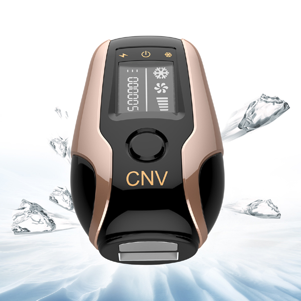 CNV Laser Hair Removal Device 3 in 1 WPL & Beauty & Ice 500,000 Flashes 5118 Gold