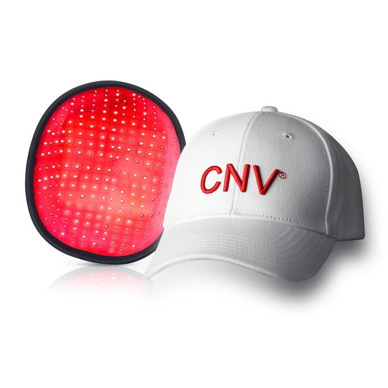 CNV Mobile Laser Therapy Cap repousse des cheveux pour hommes et femmes 288 lasers de qualité médicale blanc