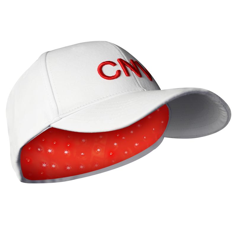 CNV Mobile Laser Therapy Cap repousse des cheveux pour hommes et femmes 108 lasers de qualité médicale blanc