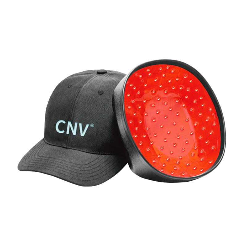 CNV Mobile Laser Therapy Cap Hair Regrow For Men and Women 168 Medical-Grade Lasers Black