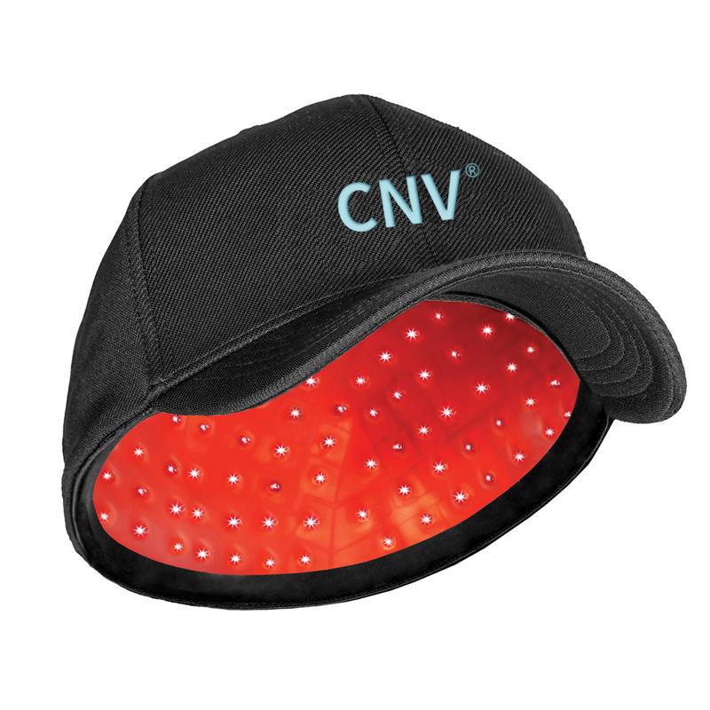 CNV Mobile Laser Therapy Cap repousse des cheveux pour hommes et femmes 108 lasers de qualité médicale noir