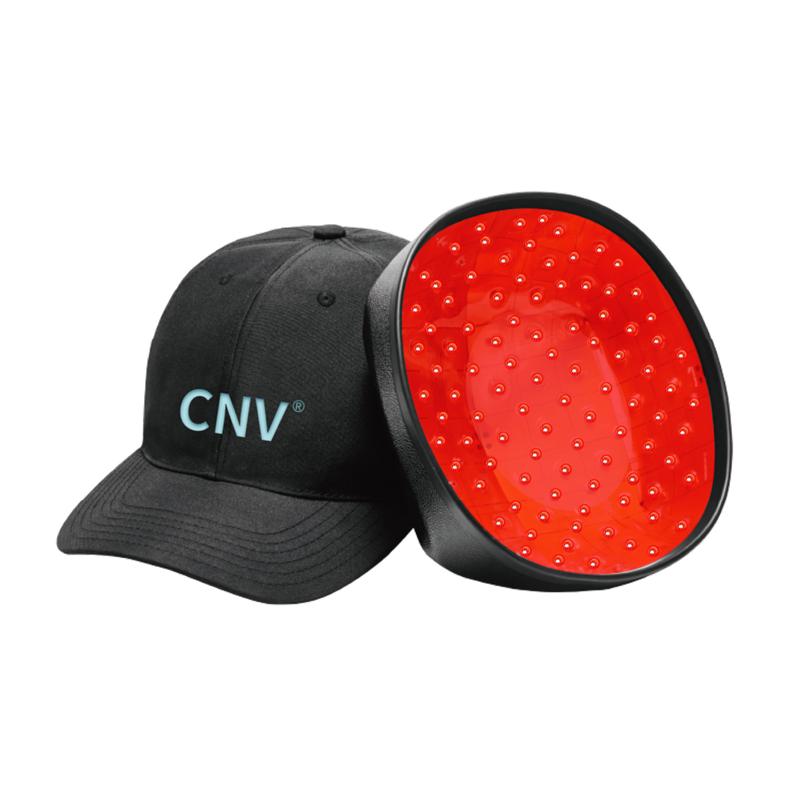 CNV モバイル レーザー治療キャップ 毛髪再生 男女用 228 医療グレード レーザー ブラック