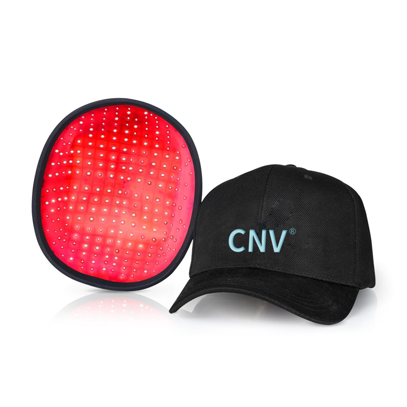 CNV モバイル レーザー治療キャップ 毛髪再生 男女用 288 医療グレード レーザー ブラック