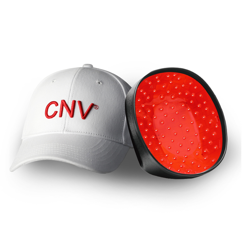 CNV 男性 と女性のための モバイル レーザー治療キャップ毛髪再生 228 医療グレード レーザー ホワイト