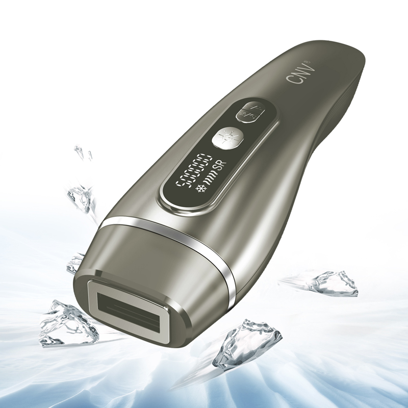 CNV Permanent Hair Removal Laser Device 3 in 1 WPL & Beauty & Ice 8118 Gold